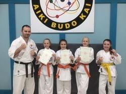 Three New Orange Belts!!