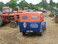 Fordson dealer service van