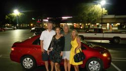 With Friends in Florida, 2010.