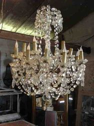 #12/264 Lrg.French  Chandelier SOLD
