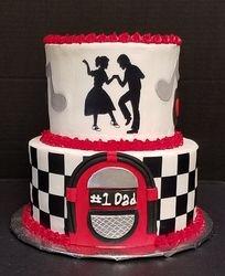 50's Diner Cake