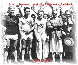 Olympic medal winners - [6/2/1929]