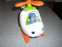 Fisher Price Little People Helicopter - $8