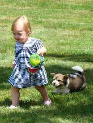 Sophie and Buzz June 2010