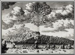Dudley Castle, c1685