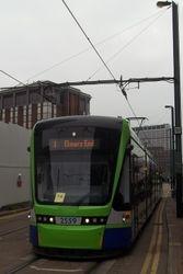Variobahn #2559 on Route 1 (Croydon - Elmers End)