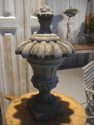 #15/101- 102 Pair of Garden Finials