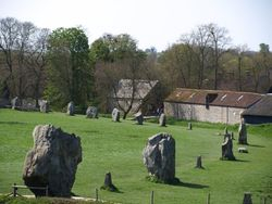 Part of the stone circle