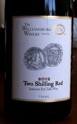 Williamsburg Two Shillings Red