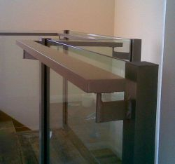 Glass Balustrade with Grab Rail