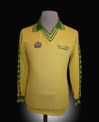 Admiral Match Worn Bobby Moore Norwich Billy Steele Testimonial Shirt