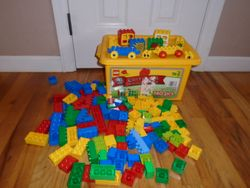LEGO Duplo 3037 Special Value 140-pc Tub - $40