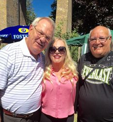 Banger Walsh, Jeanie Clarke & Jackie Turpin