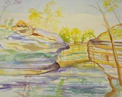 Landscape- Adult Watercolor class