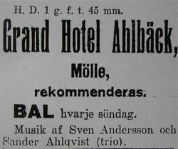 Grand Hotell Ahlbeck 1923