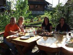 Nicola, Slavica, Linda og me