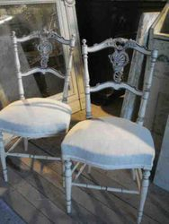 #14/150 Pr of Louis XV Chairs SOLD