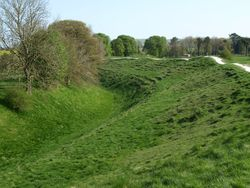 Ditch and Mound