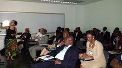 Dr. M'jiba Friehwot fellow speaker