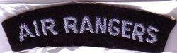 Air Ranger Shoulder Badge