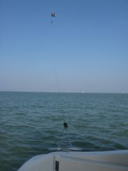 Kite borne vertical