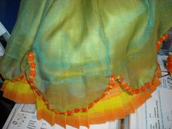 trim added to overskirt