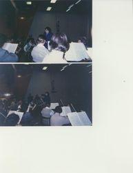 VC rehearsing in Karelia, Russia, 1999