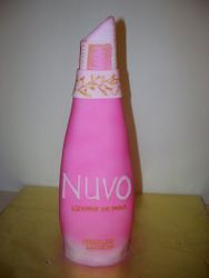 Nuvo liquor bottle cake