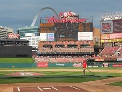 Hispanic Day at the Ballpark on June 28, 2015