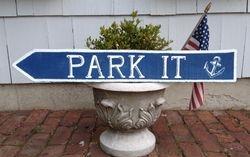 Park It sign
