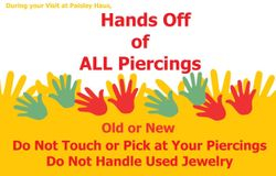 Hands off of All Piercings