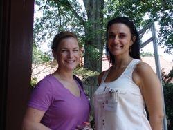 Stephanie Caillier and Jill Boudreaux