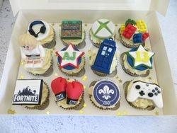 13th Birthday Personalised Cupcakes