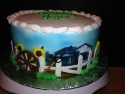 Green Acres cake