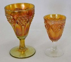 Tulip and Cane, marigold