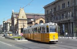 Ganz Trams and the Great Market Hall