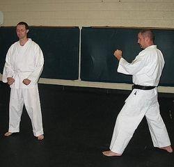 Darryl and Doug Work Kata Bunkai