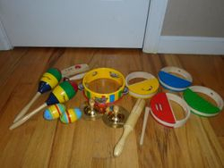 Melissa & Doug Band-in-a-Box 13-Piece Musical Instruments - $20