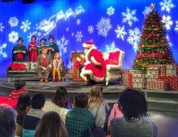 Singing with Santa