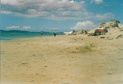 Naxos island, Mikri Vigla beach.