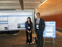 Our poster presentation