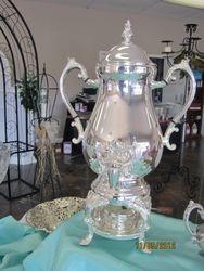silver coffee urn