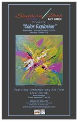 Color Explosion Poster
