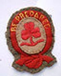 1920s Ranger First Class badge cloth