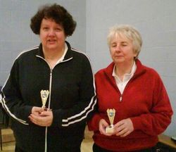 Handicap Tournament Ladies Doubles Runners Up