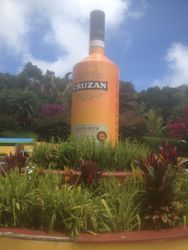 Local Rum At Mountain Top
