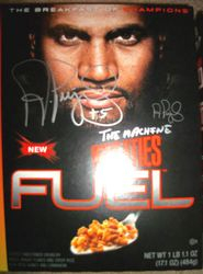 "Albert Pujols Signed Wheaties Cereal Box ""The Machine"""