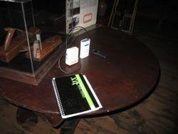 Investigating in the attic museum