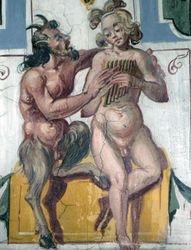 Pan and Olympus, Casino, Villa Lante