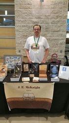 J.E. McKnight Table Display